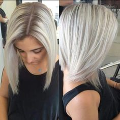 Ash frosty blond - but not the roots showing! Ash Blonde Hair, Platinum Blonde Hair, Icy Blonde, Cool Blonde, Coiffure Hair, Hair Color And Cut, Great Hair, Hair Dos, Gorgeous Hair