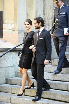 The Swedish Royal Family attended the Opening of the Swedish Parliament