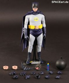 Batman: Batman (Adam West), Voll bewegliche Deluxe-Figur ... http://spaceart.de/produkte/bm020.php