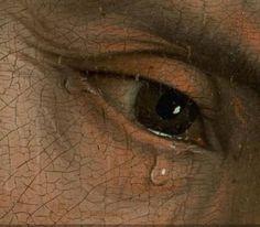 Details from Rogier van der Weyden's The Descent from the Cross