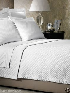 Ralph Lauren Wyatt Full Queen Polo Navy Quilted Coverlet S401