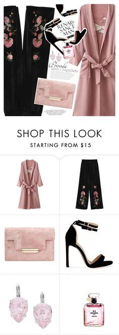"""Kimono Style"" by vanjazivadinovic ❤ liked on Polyvore featuring L. Erickson, Chanel, polyvoreeditorial and zaful"
