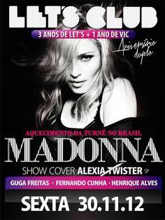 Madonna - MDNA Tour - Brazil - Mini Print