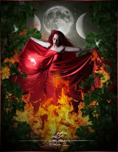 Litha by mmelusine ~Citrine~ happy litha to everyone Traditional Witchcraft, Triple Goddess, Witch Art, Summer Solstice, Dance The Night Away, Book Of Shadows, Pagan, Wiccan Sabbats, Wiccan Witch