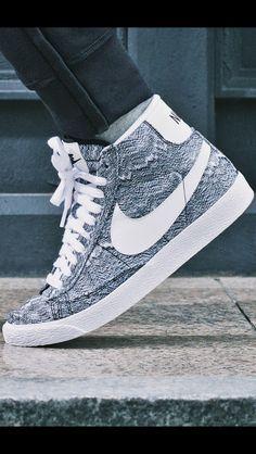 Nike Blazer Mid PRM VNTG TXT QS Marble Mesh MENS SHOES 699928 001