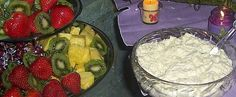 hawaiian fruit dip---this is so good you can eat it without the fruit