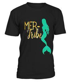 Bridesmaid Mer Tribe Mermaid Shirt Wedding Bachelorette Gold