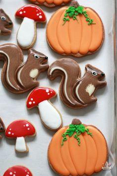 Video Tutorial _ Squirrel Decorated Cookies