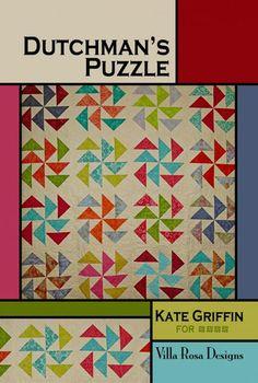 Dutchman's Puzzle Quilt Pattern by Villa Rosa Designs