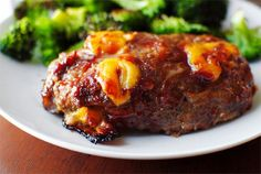 Mini BBQ Cheddar Meatloaves by Iowa Girl Eats