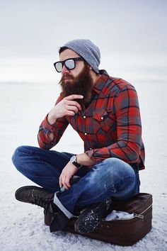 Understanding Everything About the Lumbersexual Man From Beardoholic.com