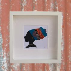 cotton-sox a designer based in the UK of handmade African textile homeware and decor using original Three Cats Shweshwe fabric a product of South Africa Framed Fabric, Framed Prints, Three Cats, Cotton Socks, Box Frames, Box Art, Turban, African, Textiles