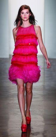 Peter Som Spring 2012 #pink #fashion