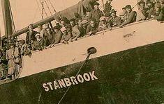 Refugiados españoles, a bordo del 'Stanbrook' en 1939. libro 'Operación Stanbrook