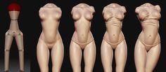 женщина 3d модель - Google 검색