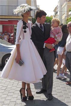 Inés Domecq, con vestido de Roberto Diz