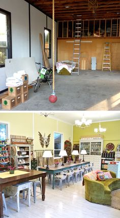 Cathe Holden Inspired Barn Studio: what a transformation of  boat storage to craft mecca