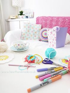 Pastel Colours About The House