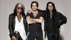 Hollywood Vampires may be a supergroup, but their self-titled 2015 debut album was essentially a souped-up showcase for frontman Alice Cooper. Aerosmith's Joe Perry, Johnny Depp, and the band … Joe Perry, Alice Cooper, Johnny Depp, Aerosmith, Hard Rock, Vampire Band, Heavy Metal, The Hollywood Vampires, Johnny Thunders
