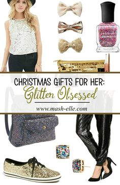 Gifts for all your glitter obsessed friends!