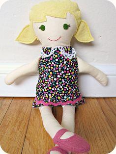 homemade by jill: dolly stocking stuffer