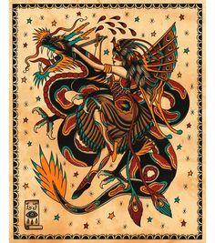 67 Ideas tattoo old school arm american traditional flash art Traditional Tattoo Dragon, Traditional Tattoo Prints, Traditional Tattoo Old School, Traditional Nautical Tattoo, Tattoo Henna, Cat Tattoo, Neon Tattoo, Tattoo Hip, Sick Tattoo