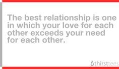 love vs need