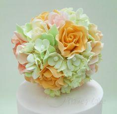 Sugar Flowers by Planet Cake www.planetcake.com.au