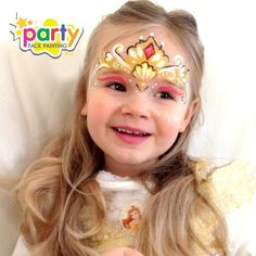 Princess Belle Face Painting