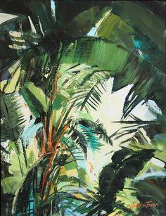 'Jungle I' |  Acrylic on Board |  35 x 25cm