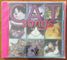 Cat Songs CD by MAG Records 1999 with Stray Cats Tom Jones - NEW