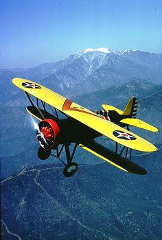 ..._Last flying Boeing P-12E