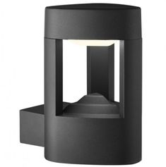 Searchlight Outdoor LED Wall Light in Grey With Acrylic Diffuser for sale online Outdoor Wall Lantern, Outdoor Wall Sconce, Outdoor Wall Lighting, Outdoor Flush Mounts, Outdoor Walls, Contemporary Outdoor Lighting, Contemporary Garden, Aphrodite, Support Mural