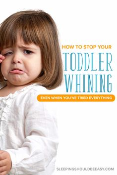 Tired of your toddler whining and crying all the time? Learn how to deal with your child's behavior with these respectful but effective solutions. Co Parenting Classes, Parenting Plan, Kids And Parenting, Parenting Hacks, Parenting Quotes, Funny Parenting, Toddler Behavior, Toddler Discipline, Positive Discipline