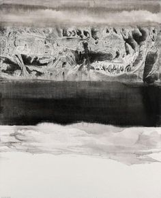 GAO XINGJIAN  (NE EN 1940)  LA REVELATION DE LA MER, 2008  Encre sur toile…