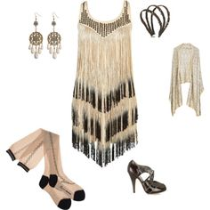 20s party outfit #PartyOutfits #OuterInner