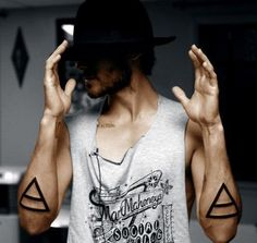 Jared Leto & tattoos. Delicious.