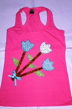 Camisetas Decoradas Con Password Pinterest Flores
