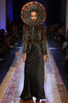 Jean Paul Gaultier Fall 2016 Couture Fashion Show - Farhiya Shire