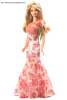Looking for Collectible Barbie Dolls? Shop the best assortment of rare Barbie dolls and accessories for collectors right now at the official Barbie website! Barbie Gowns, Barbie I, Barbie World, Barbie Dress, Barbie And Ken, Barbie Clothes, Barbie Blog, Barbie Basics, Pink Dress