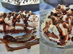 Δροσερό και αφράτο Μους κέικ Velvet Cake, Kitchen Colors, Cake Pans, Tiramisu, Kitchen Dining, Cake Recipes, Food Porn, Ethnic Recipes, Recipes
