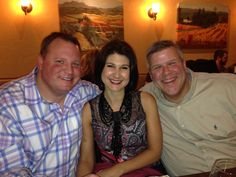 Hanging with my good friends Travis Powers and Cynthia Ermshar.