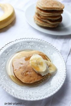 Ciasto w 5 minut, czyli banoffee pie - Primi Piatti Banoffee Pie, Vegetarian Recipes, Healthy Recipes, Banana Pancakes, Something Sweet, Sweet Recipes, Healthy Snacks, Clean Eating, Good Food