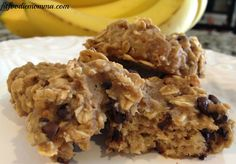 Chunky Monkey Cookies - Dairy free, gluten free and can be sugar free.  Best kid snack!