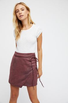 Shop our Walk On By Vegan Mini Skirt at Free People.com. Share style pics with FP Me, and read & post reviews. Free shipping worldwide - see site for details.