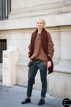 Aymeline Valade Street Style Street Fashion Streetsnaps by STYLEDUMONDE Street Style Fashion Blog