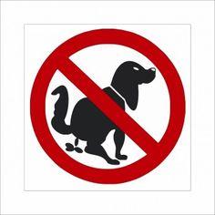 Schild - Bitte entfernen Sie den Kot Ihres Hundes!