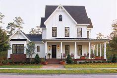 Modern Farmhouse - White Plains Plan #1799 - 17 Pretty House Plans with Porches - Southern Living