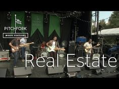 Real Estate performs at Pitchfork Music Festival 2012