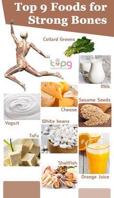 Top 9 Foods for Strong Bones..